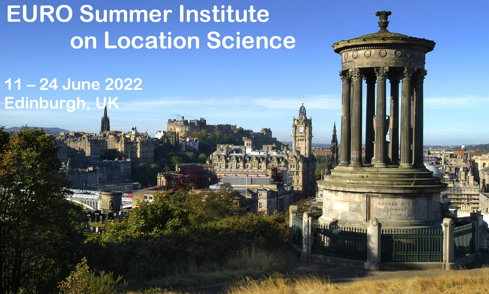 EURO Summer Institute Edinburgh 2022
