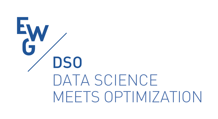 EWG DSO, EURO working group on Data Science meets Optimization