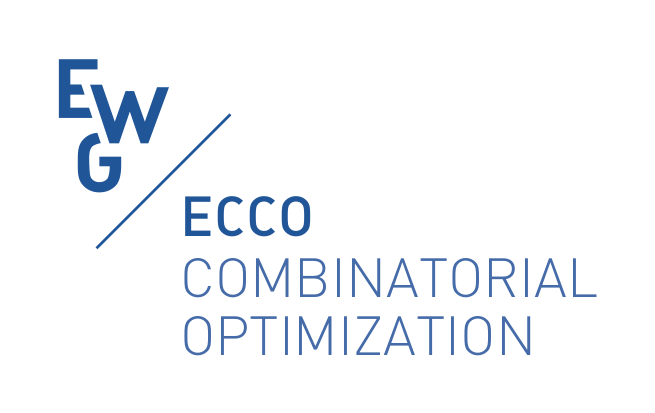 EWG ECCO, EURO working group on Combinatorial Optimization