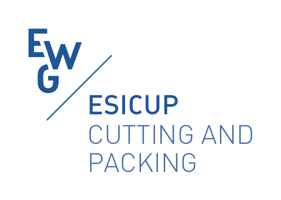 EWG ESICUP, EURO working group on Cutting and Packing