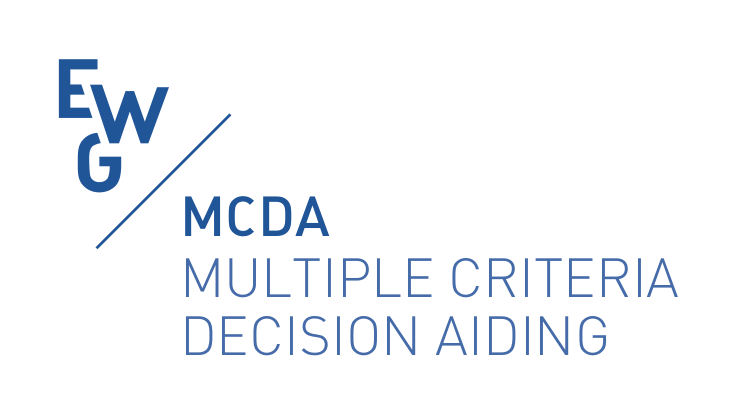 EWG MCDA, EURO working group on Multiple Criteria Decision Aiding