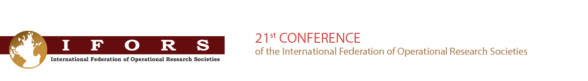 21st Conference of the International Federation of Operational Research Societies